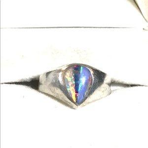 Sterling Opal Triplet